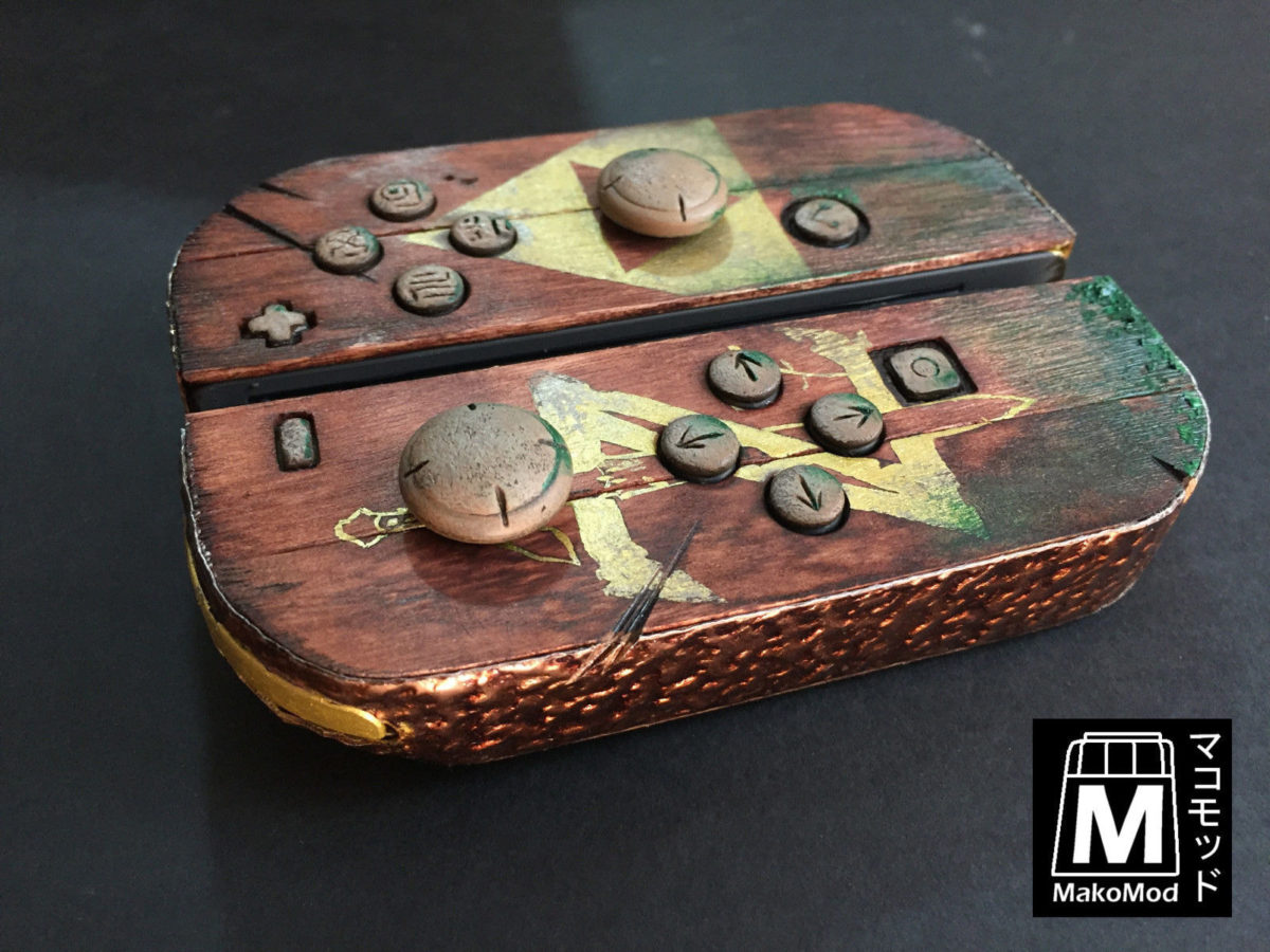 Zelda Breath of the Wild Custom Nintendo Switch Console